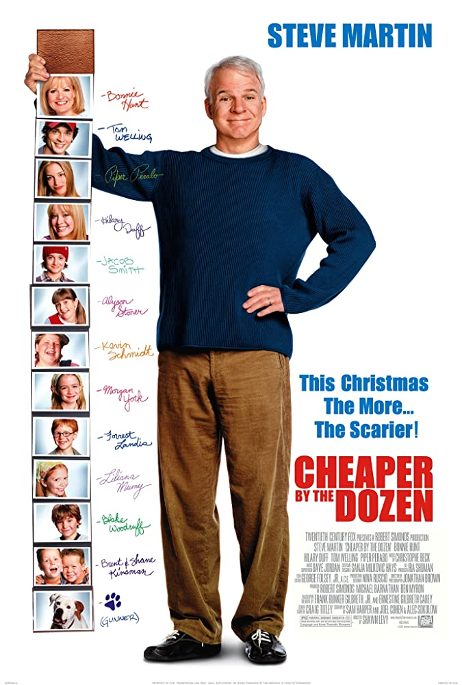 Cheaper by the Dozen 2003